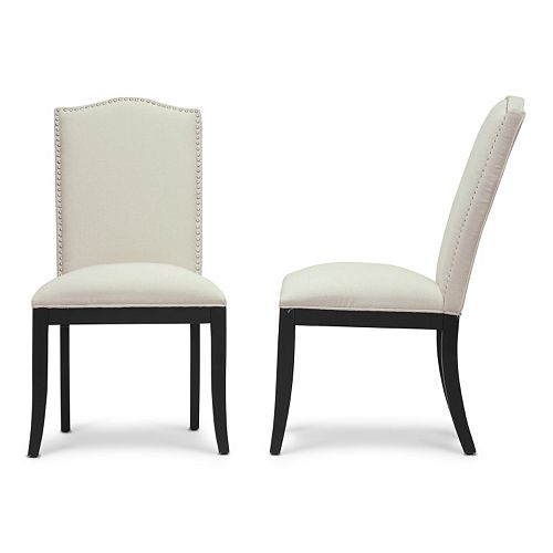 Baxton Studio Tyndall  Modern Dining Chair 2-piece Set