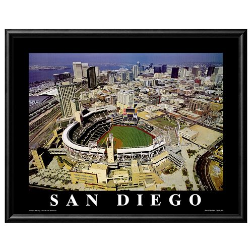 Art.com Petco Park San Diego Padres Framed Wall Art