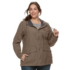 Plus Size Columbia Cultus Lake Hooded Anorak Jacket