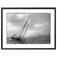 Art.com Classic Yacht Matted Framed Wall Art