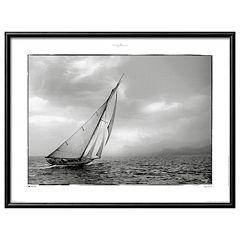 Art.com Classic Yacht Matted Framed Wall Art