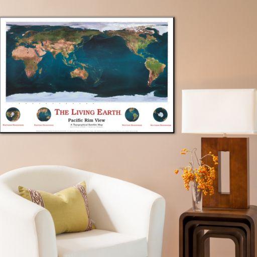 Art.com The Living Earth Pacific Rim View Wall Art