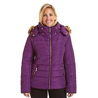 Plus Size Excelled Classic Puffer Jacket