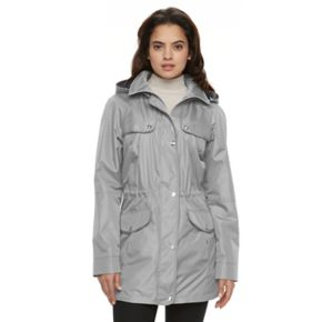 Women's Croft & Barrow® Hooded Drawstring Anorak Jacket