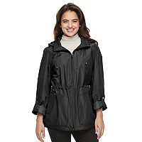Women's Croft & Barrow® Hooded Roll-Tab Anorak Jacket
