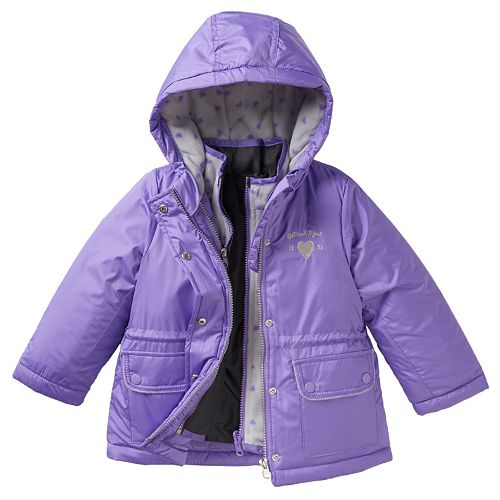 OshKosh B/'gosh Girls Reversible Jacket