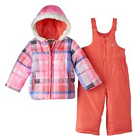 Toddler Girl OshKosh B'gosh® Print Puffer Jacket & Snow Pants Set