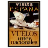 Art.com Visite Espana Framed Wall Art