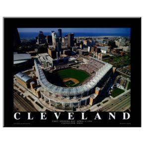 Art.com Cleveland First Game at Jacobs Field Wall Art