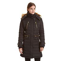 Women's Excelled Long Hooded Puffer Jacket