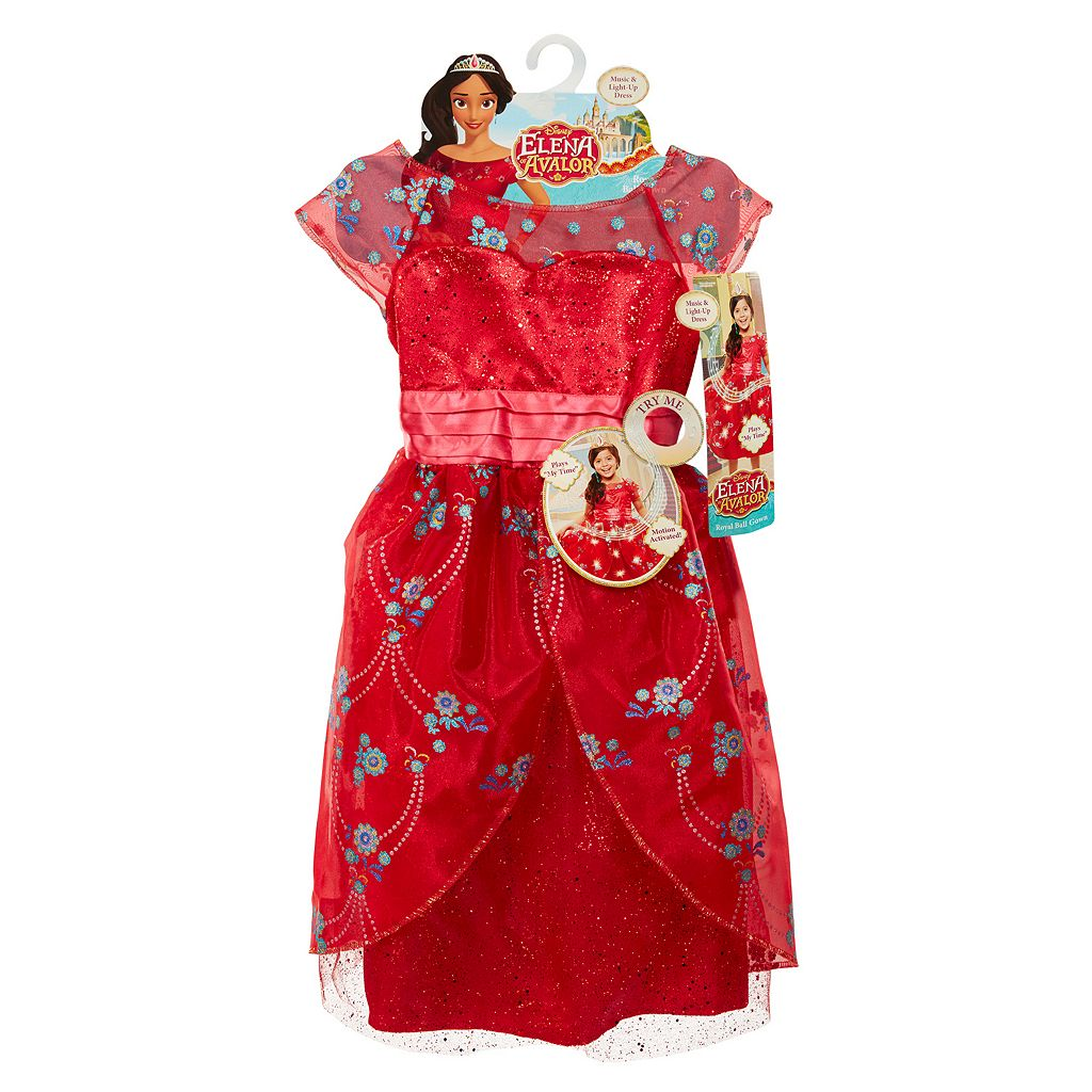Disney's Elena of Avalor Musical Light-Up Royal Ball Gown