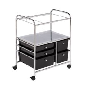 Honey-Can-Do 5-drawer Hanging File Cart