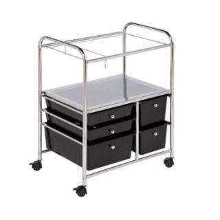 Honey-Can-Do 5-drawer Hanging File Cart