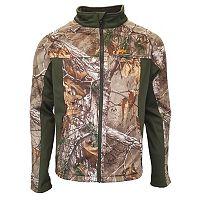 Men's Walls Realtree Camo Softshell Windbreaker Jacket