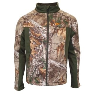 Men's Walls Realtree Camo Softshell Windbreaker Jacket