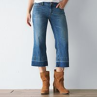 Women's SONOMA Goods for Life™ Release Hem Cropped Jeans