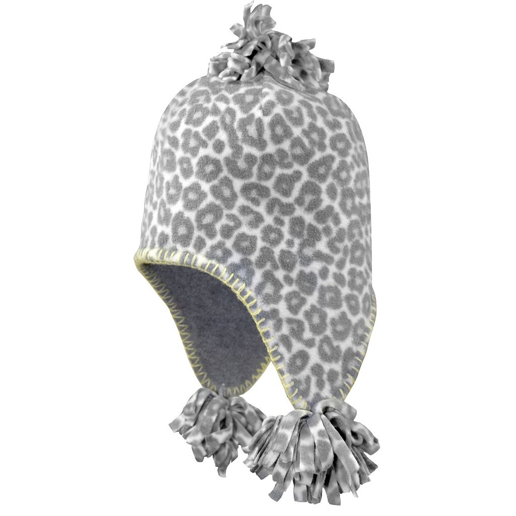 Girls 4-6x Igloos Cheetah Flap Hat