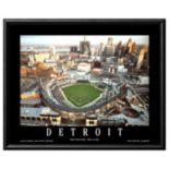 Art.com Detroit Comerica Park Framed Wall Art