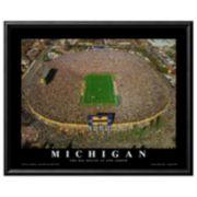 Art.com Michigan Football Stadium Framed Wall Art