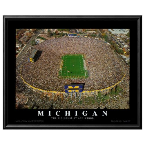 Art.com Michigan Football Stadium Framed Wall Art