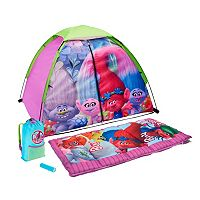 Dreamworks Trolls 4 pc Camping Set by Exxel Outdoors