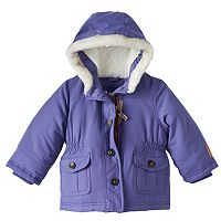 Toddler Girl Carter's Hooded Parka Jacket