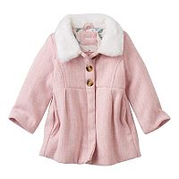 Toddler Girl Carter's Wool-Blend Coat
