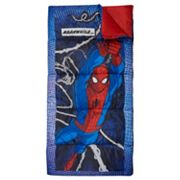 Marvel Spider-Man 28' x 56' Sleeping Bag by Exxel Outdoors