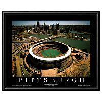 Art.com Pittsburg Stadium Framed Wall Art