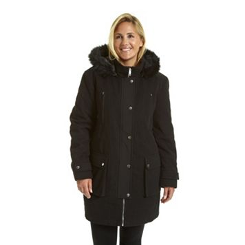 Plus Size Excelled Hooded Anorak Jacket