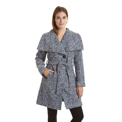 Women's Excelled Belted Boucle Jacket
