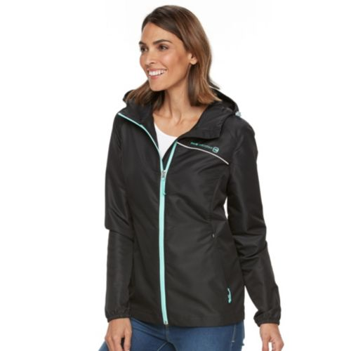 Women's Free Country Hooded Packable Dobby Jacket
