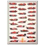 Art.com Ferrari Formula I International Edition Wall Art