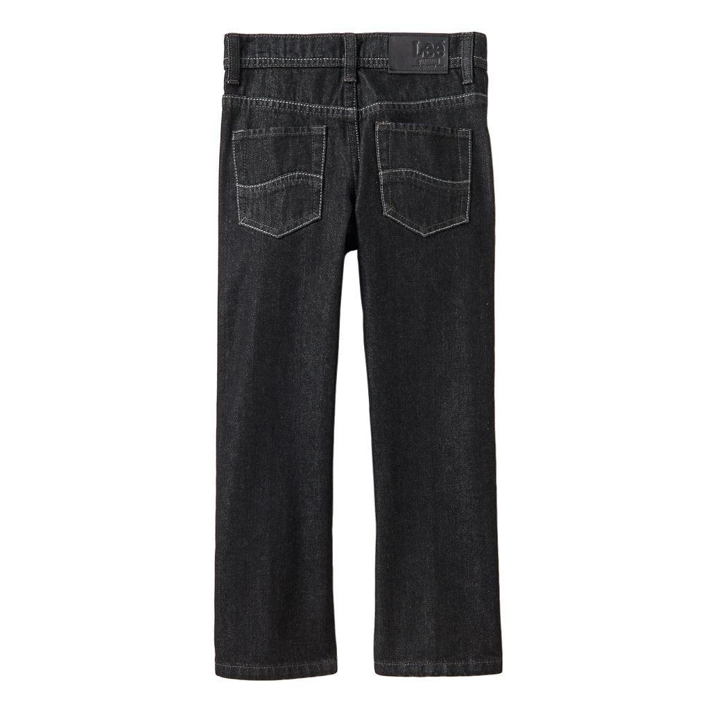 Boys 4-7x Lee Dungarees Slim Straight-Leg Jeans