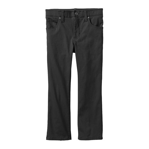 Boys 4-7x Lee Sport Extreme Comfort Stretch Slim Straight-Leg Twill Pants