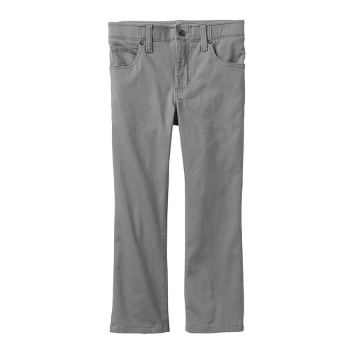 Boys 4-7x Lee Sport Extreme Comfort Stretch Slim Straight-Leg Twill Pants