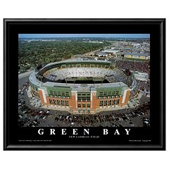 Art.com Green Bay Lambeau Field Framed Wall Art