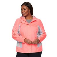 Plus Size Free Country Hooded Mesh Ripstop Jacket