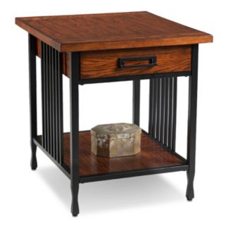 Leick Furniture Industrial End Table