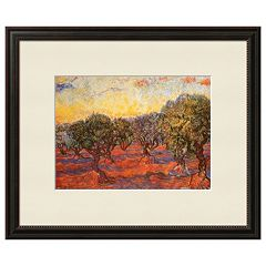 Art.com 'The Olive Grove' Framed Wall Art by Vincent van Gogh