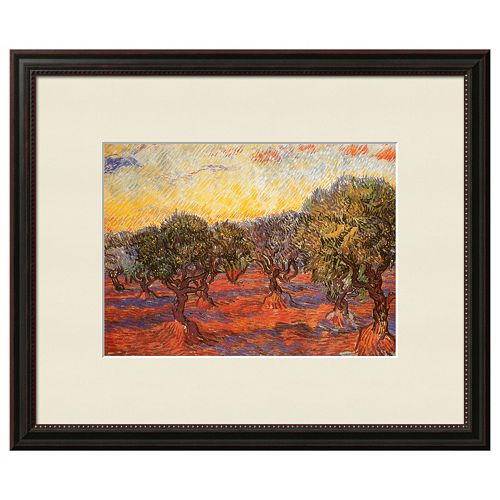 "Art.com 'The Olive Grove"" Framed Wall Art by Vincent van Gogh"