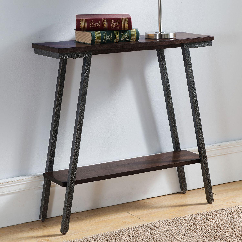 leick furniture modern console table - Leick Furniture