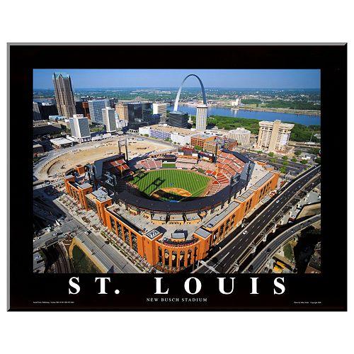 Art.com St. Louis New Busch Stadium Wall Art