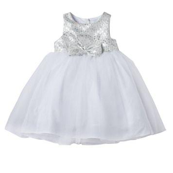Girls 4-6x Marmellata Classics Metallic Polka-Dot Glitter Tulle Dress