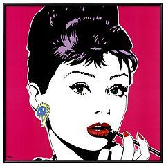 Art.com Lips I Framed Wall Art