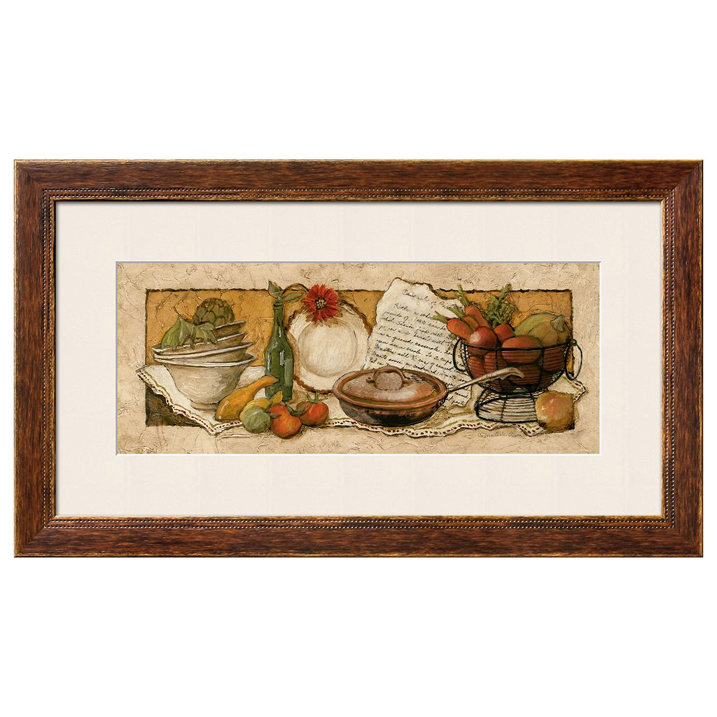 Art.com Passion for Cooking II Framed Wall Art