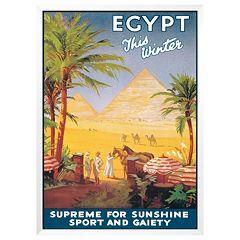 Art.com 'Egypt This Winter' Framed Wall Art