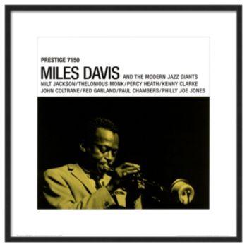 Art.com Miles Davis Prestige 7150 Framed Wall Art