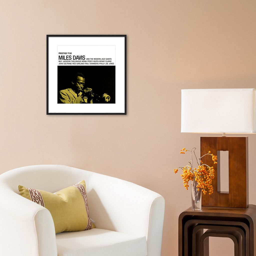 Art.com Miles Davis Prestige 7150 Framed Wall Art