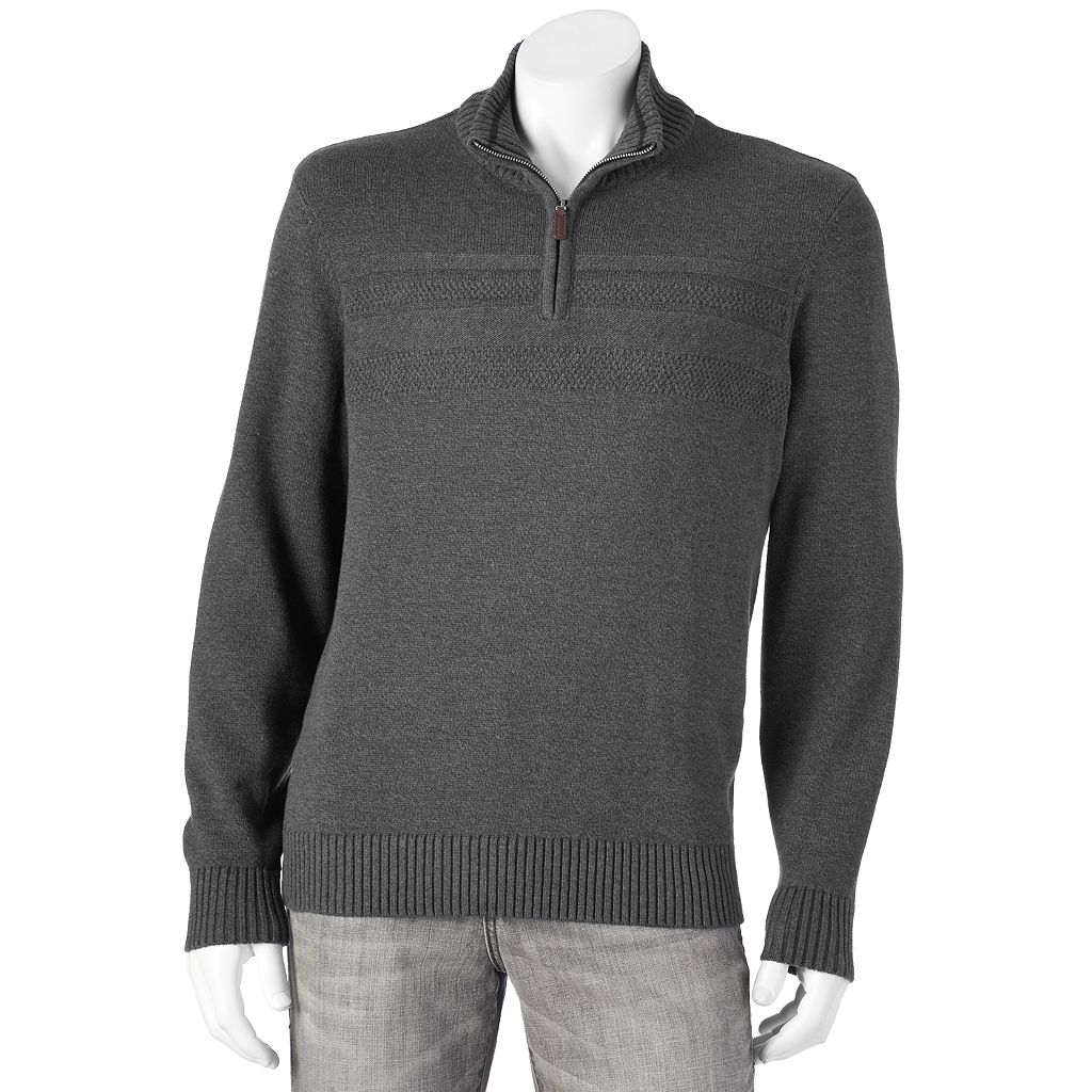 Men's Dockers Classic-Fit 7gg Quarter-Zip Sweater